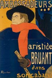 Плакат А. Тулуз-Лотрека
