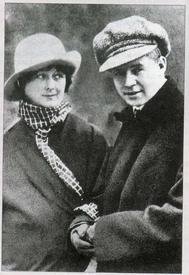Айседора Дункан и Сергей Есенин. 1922.