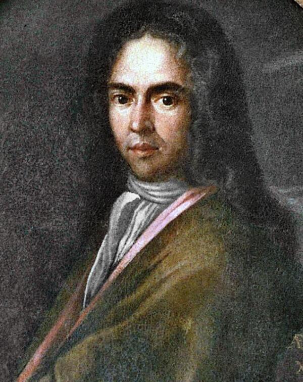 Хорватский поэт Иван Гундулич на портрете 1630 года.