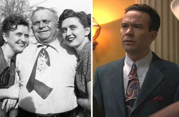 Яркие галстуки конца 1940-х - начала 1950-х годов.