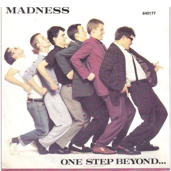 Группа MADNESS в конце 1970-х.