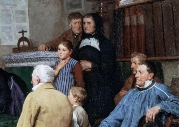 Альберт Анкер, Гражданское бракосочетание, фрагмент