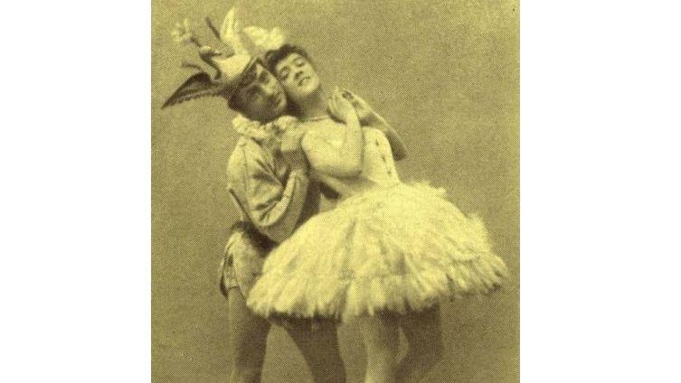 Варвара Никитина и Энрико Чекетти – па-де-де Голубой птицы и принцессы Флорины (премьера «Спящей красавицы» в 1890 году)