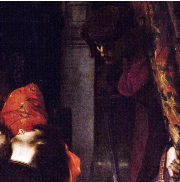 Александр Кабанель, Франческа да Римини и Паоло Малатеста, фрагмент