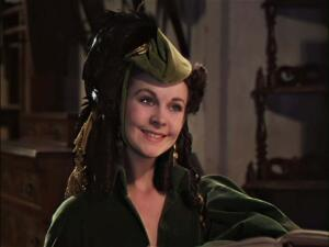 Знаменитые кинонаряды. Как было пошито «платье из занавески» для фильма «Унесённые ветром»?