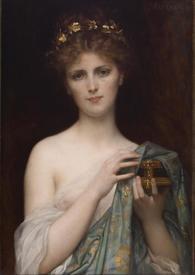 Александр Кабанель, Пандора, 1873, 70х49 см, Walters Art Museum, Балтимор, Мериленд, США