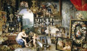 Ян Брейгель и Рубенс, «Зрение». Как они это показали?