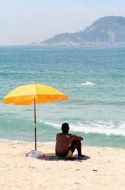 Пляжный зонт.