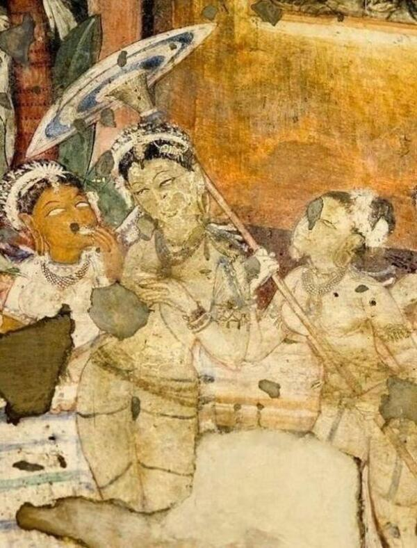 Индийский зонтик. 320 г. н.э.