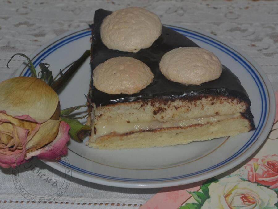 Как приготовить торт «Bonsoir»?
