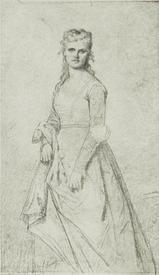Александр Кабанель, Офелия (Кристина Нильссон), 1873