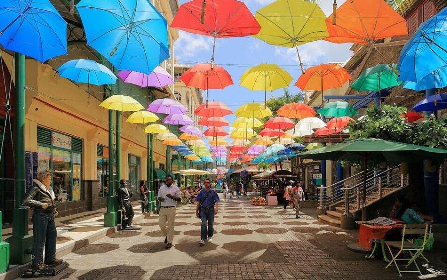 Современный Стрит-Арт в Порт-Луи, Маврикий.