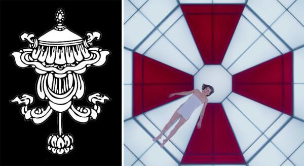 Благой зонт - один из восьми благоприятных символов тибетского буддизма и эмблема корпорации