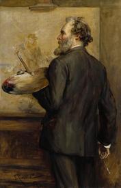 Томас Фаед, портрет работы John Pettie, 1887