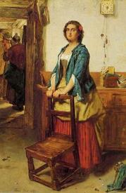 Томас Фаед, Предложение, 1867, 80х55 см