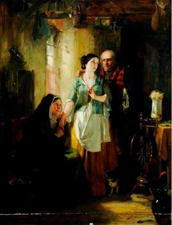 Старый Робин Грей, 97х72 см, 1850, Museums Sheffield Англия