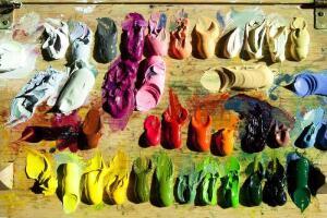 Из чего состоят масляные краски для художников?