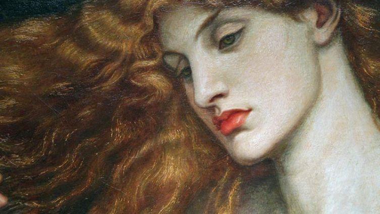 Данте Габриэль Россетти, «Леди Лилит», фрагмент