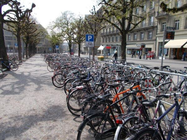 Парковка по-швейцарски