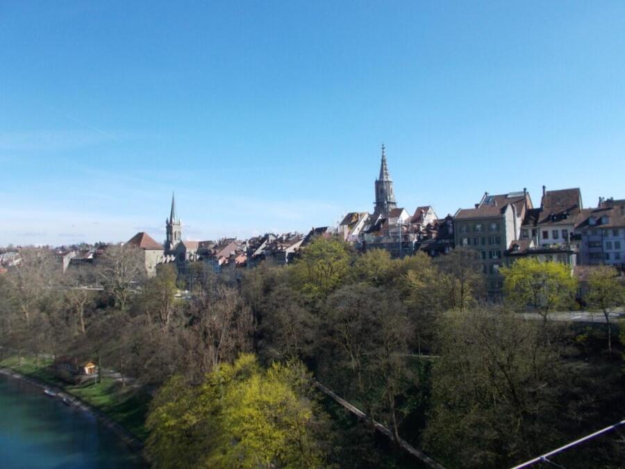 Швейцарский городской пейзаж