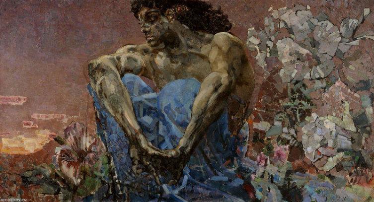 «Демон», М.А. Врубель