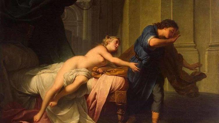 Натье Жан-Марк. «Иосиф и жена Потифара»
