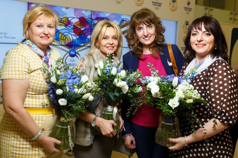 Алена Топилина, Джулия Валитова, Елена Шишкина, Оксана Шурочкина