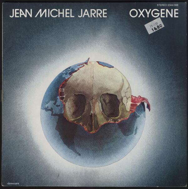 Облжка альбома «Oxygene».