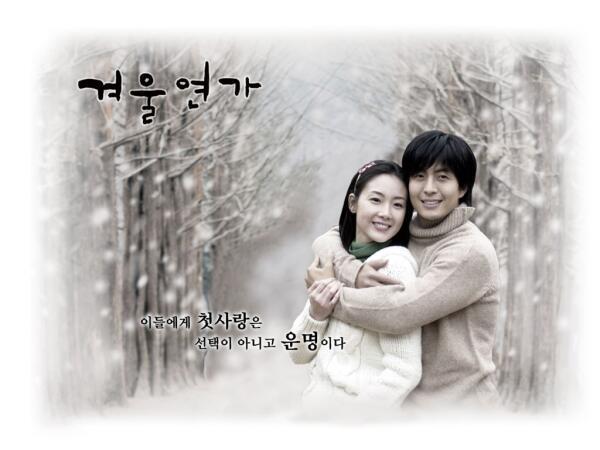 Постер к сериалу «Зимняя соната»