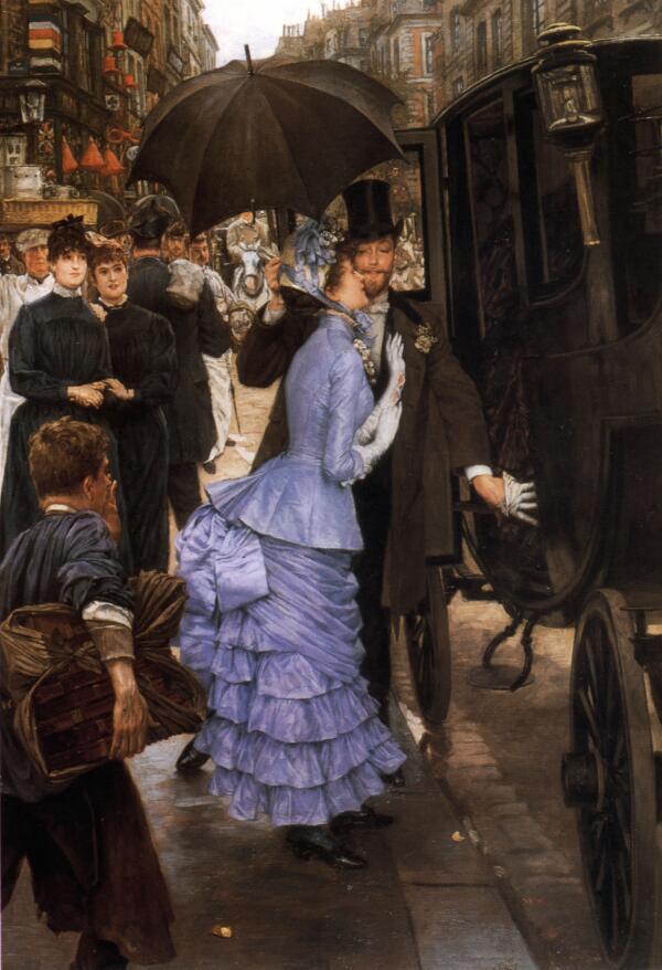 Джеймс Тиссо, Подружка невесты, 1883, частная коллекция