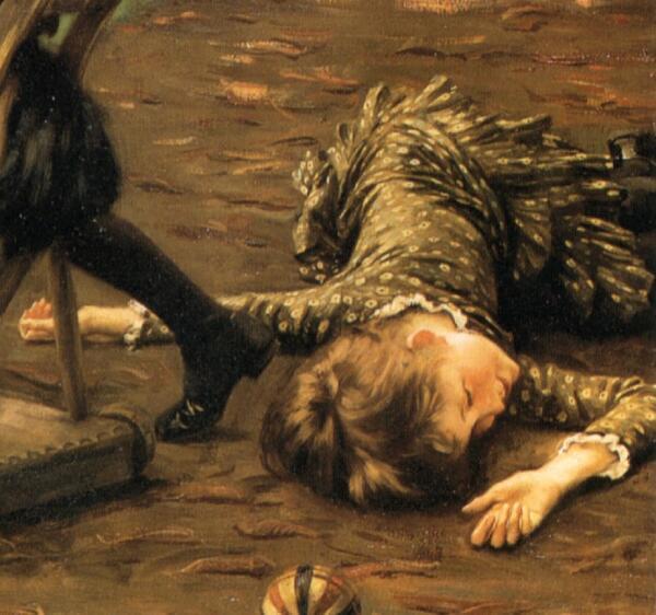 Джеймс Тиссо, Маленький охотник, фрагмент «Жертва тигров»