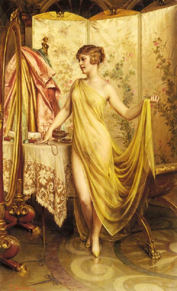 Фредерик Солакру, Суета, 76×46 см, частная коллекция