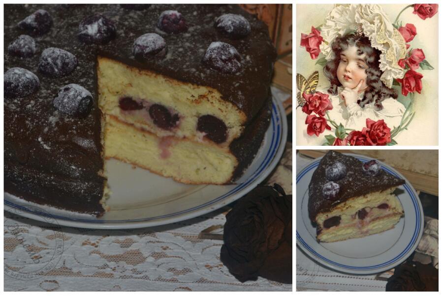 Как приготовить торт «Neigeux cerise»?