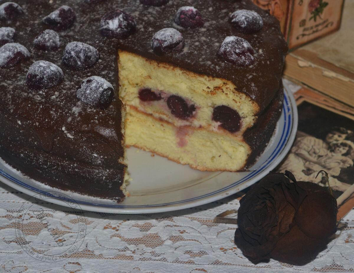 Торт «Neigeux cerise»