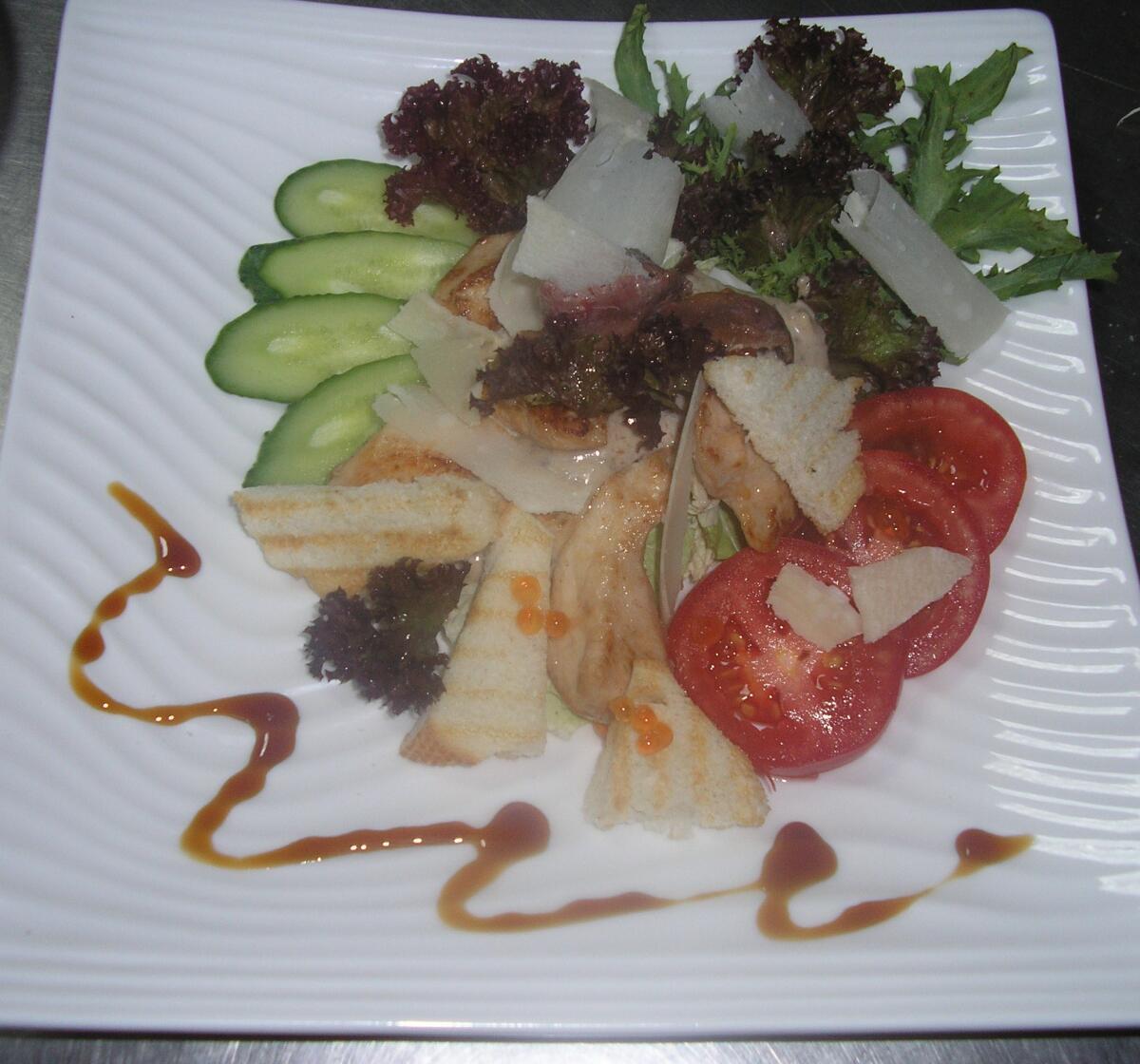 Разновидности салата цезарь