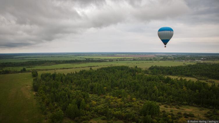 Как покорить небо? Фестиваль воздухоплавателей в Старой Руссе 2016