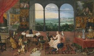   Ян Брейгель и Рубенс, «Слух». Как они это видели?