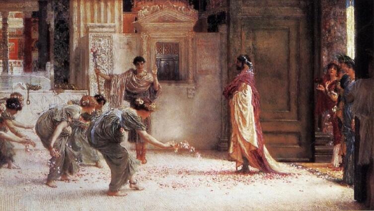 Альма-Тадема сэр Лоуренс, Каракалла, 1902 частная коллекция