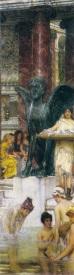 Альма-Тадема сэр Лоуренс, Купальня, 1876, частная коллекция