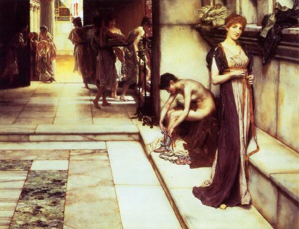 Альма-Тадема сэр Лоуренс, Аподитериум, 1886, частная коллекция