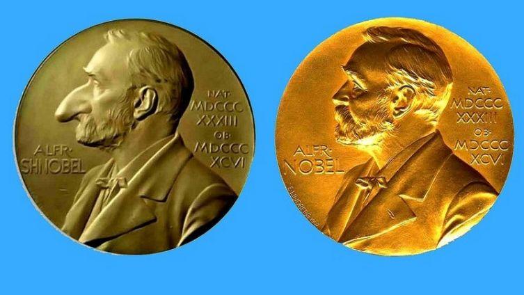 Премии Шнобеля и Нобеля