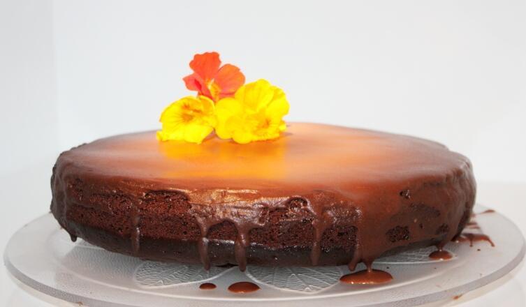 Как приготовить бабушкин свекольный шоколадный кекс?