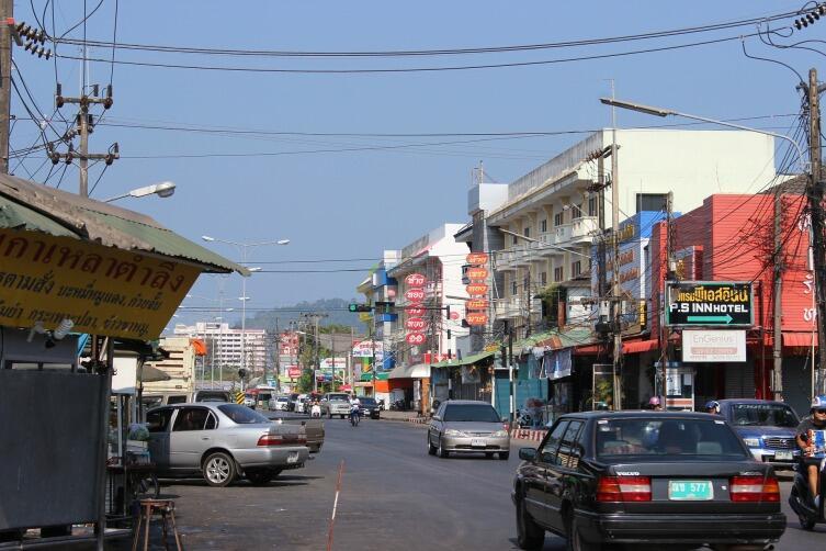 Улица Пхукета