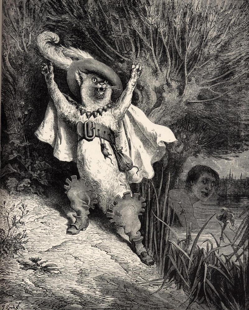 Иллюстрация к сказкам Перро.