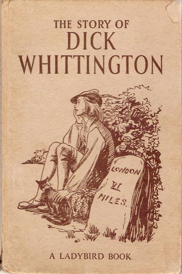 Дик Уттингтон и его кошка.