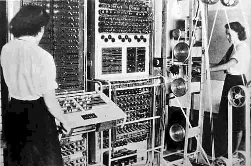 Дешифровальная машина Colossus
