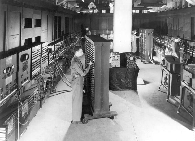 ENIAC - первый электронный цифровой вычислитель общего назначения