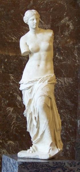 Венера Милосская, Лувр, Париж, Франция