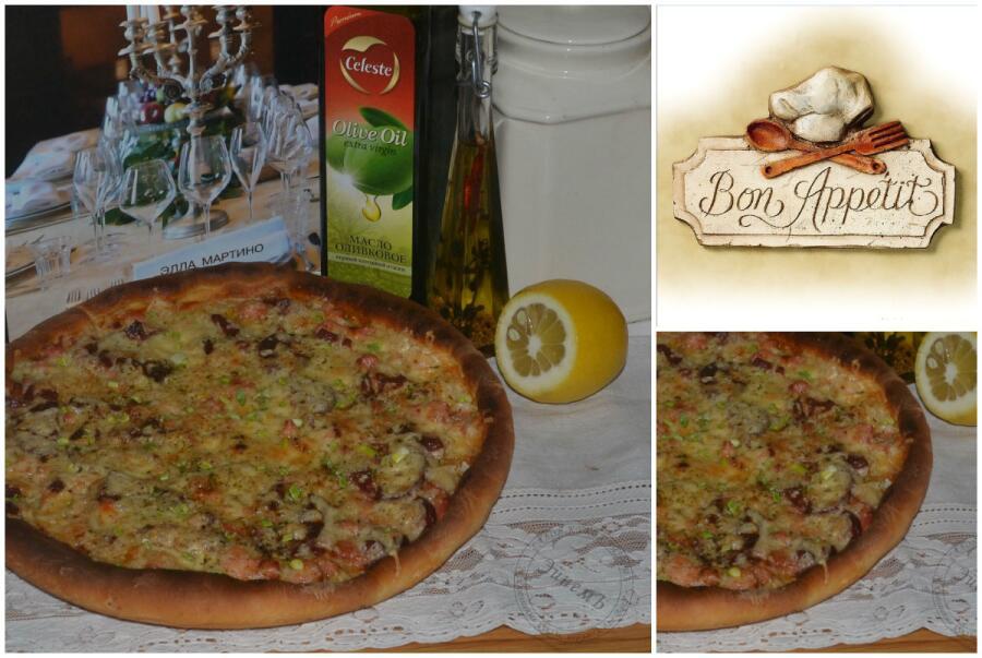 Как приготовить пиццу «Bon appétit»?