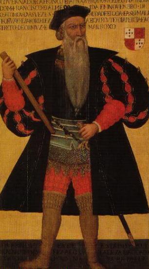 Альфонсу ди Альбукерке. Портрет ХVI века
